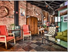 Boulder Coffee Co., Rochester, NY - love the vanilla chai, menu, and the ambiance. I'm sure the coffee is great too.