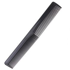Black Men Women Salon Black Plastic Cutting Hair Tooth Comb Barber Tool Hairdressing Hair Brush H7JP