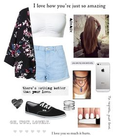 """""""Nothing better than your love"""" by mariafe1231 ❤ liked on Polyvore"""