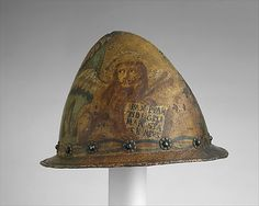 Cabasset                                                                                      Date:                                        late 16th–early 17th century                                                          Culture:                                        Italian                                                          Medium:                                        Steel and pigments