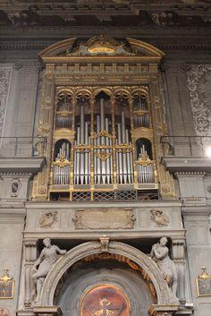 Florence, Ognissanti, grand orgue #TuscanyAgriturismoGiratola