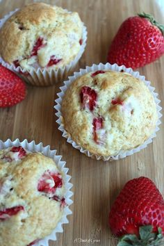 Fresh Strawberry Muffins, Muffin #5 - A Touch of Grace