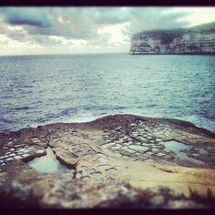 Salt pans at Xlendi, #Gozo │ #VisitMalta visitmalta.com