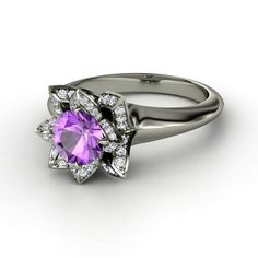 Lotus Ring  $2,442. Love love love!!! Maybe a differet stone though.