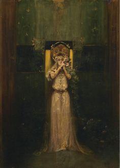 Alfons Mucha, Flora, 1892