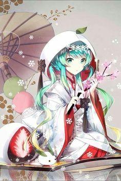 #anime #animegirl <---- DID I STUTTER?  MIKU IS A VOCALOID, NOT ANIME!