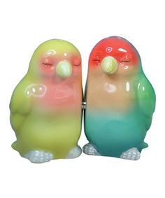 Take a look at this Lovebird Salt & Pepper Shakers by Westland Giftware on #zulily today!