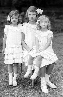 Archduchess Adeleihd , Elisabeth and Charlotte of Austria