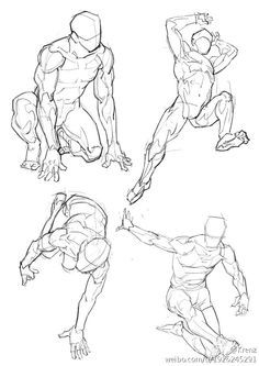 body poses of BOYS WITH POWER DRAWINGS - Buscar con Google