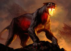 Chartooth Cougar MTG by chasestone on @DeviantArt