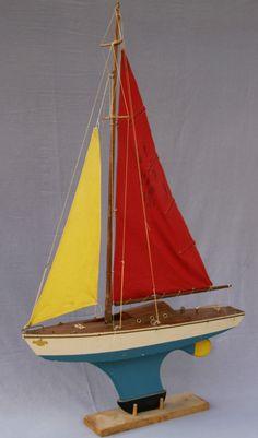 Voilier de Bassin Borda Luxe Série 70 (1975-85)