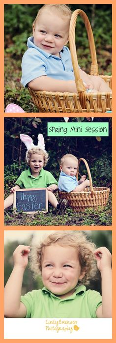 #Spring #kids photography #children #easter #mini session #bunny ears