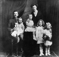 Karl and Zita with their children