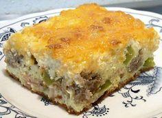 KILLER EGG CASSEROLE - Linda's Low Carb Menus & Recipes