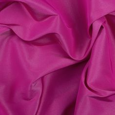 Fuchsia Solid Silk Faille Fabric by the Yard   Mood Fabrics