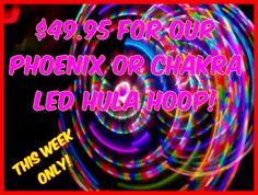 Led Hula Hoop, Led Hoops, Strobing, Phoenix, Chakra, Neon Signs, Rainbow, Colors, Pattern