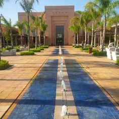 Hotel du Golf... the exclusive location for your #mediterraneanwedding in #marrakech