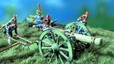 1/72 diorama. French artillery battery by Judgefredd/Peinture de Guerre