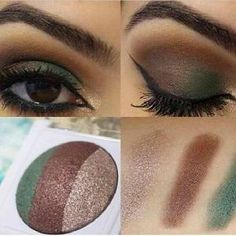 Great look using the Mary Kay @ Play Earth Bound baked eye trio!