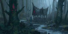 Bilderesultat for witch lair