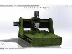 CNC para PCB Modelo 2 por Brustolon - Thingiverse