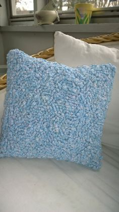 Light Blue and White Vintage Cotton Fabric by IowaPrairieLiving,