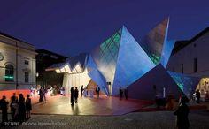 Sala transportable para la ópera Pabellón 21,Coop Himmelb(l)au