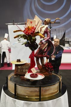 Coupe du Monde de la Pâtisserie 2015, Team Japan 2nd place.