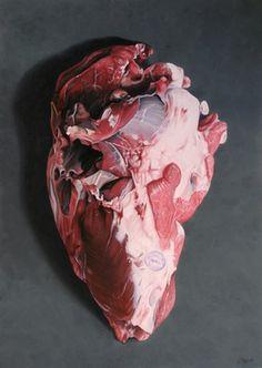 "Saatchi Art Artist Nenad Marasovic; Painting, ""Piece of meat"" #art"