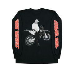 Dirt Bike Long Sleeve T-shirt – Purpose Tour Merchandise
