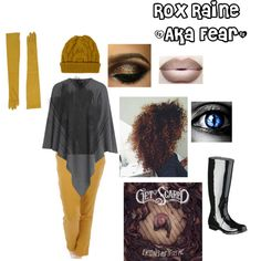 Rox Raine (AKA Fear) from The fate chronicles by alexis-miller-3 on Polyvore featuring art