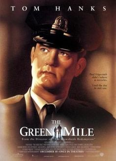 Green Mile Movie poster Metal Sign Wall Art 8in x 12in