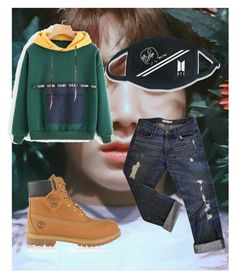 """""""GoGo"""" by ilseok on Polyvore featuring J Brand, Timberland and LØMO"""