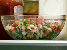 Pico de Gallo from FoodNetwork.com - This goes w/Pioneer Woman's Chicken Quesadillas.