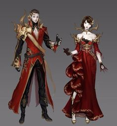 King and Queen Formal Wear