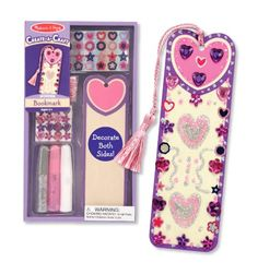 Melissa & Doug Decorate-Your-Own Bookmark