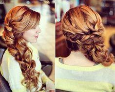 Bridesmaid's Hairstyle