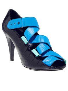 Balenciaga by Nicolas Ghesquire croc shoes #shoes #fashion #heels