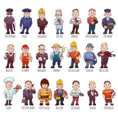 Zawody i profesje w języku angielskim