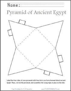 pyramid template word