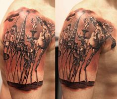The whole concept of surrealism is based on a non-rational significance of imagery. American Traditional, Traditional Tattoo, Tattoos, Surrealism, Ink, Salvador Dali, Inspiration, Concept, Awesome
