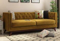premium quality   box like sofa   tapered legs  All make is loyal. Best option for Office Reception #fabricsofa #3seatersofa #velvetsofa #officesofa
