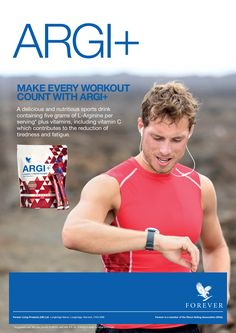 Get MORE out of your workout program with Argi+ - it's the sports drink that just keeps on giving! #FITnessJourney http://link.flp.social/jpfvDo