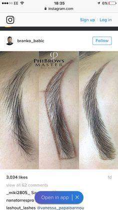 For Eyebrow Makeup Eyebrow Brush, Eyebrow Tattoo, Eyebrow Makeup, Skin Makeup, Mircoblading Eyebrows, Threading Eyebrows, Threading Salon, Semi Permanent Makeup, Permanent Makeup Eyebrows