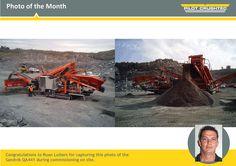 #PhotoOfTheMonth Work Site, Congratulations, Pilot, Monster Trucks, Africa, Pilots, Afro, Remote