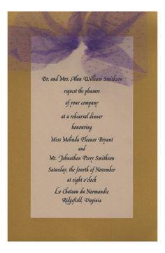 Gaudy Maudy Invitation from Odd Balls Party Invitations