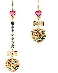 Drop Earrings - Shop Women's Fashion Earrings from Betsey Johnson $40.00