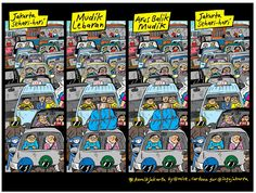 Mice Cartoon, Komik Jakarta 11 Agustus 2014: Jakarta Sehari-hari