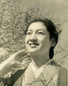 Setsuko Hara photographed in 1938
