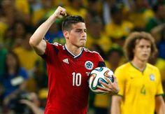 James Rodriguez telah mengambil keunggulan dalam perburuan meraih Sepatu Emas Piala Dunia setelah mencetak gol keenamnya di turnamen pada babak perempat-final melawan Brasil.